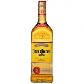 Bottle of Jose Cuervo Gold