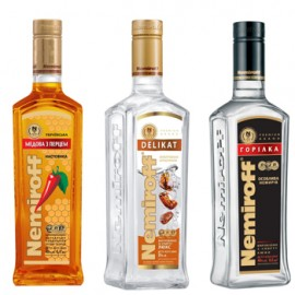 Smooth, Sweet and Spicy Liquor Collection