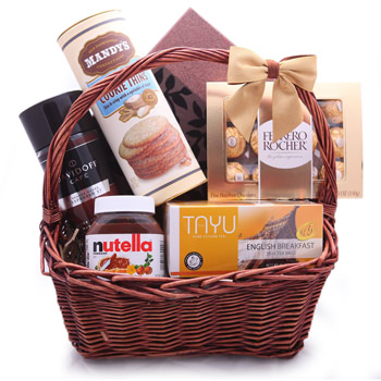 Chocolate Shop Gift Basket