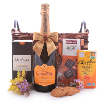 Gran Campo Viejo Cava and Chocolate Gift