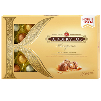 Korkunov Milk Chocolates
