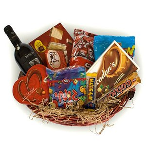Wines and Nut Basket