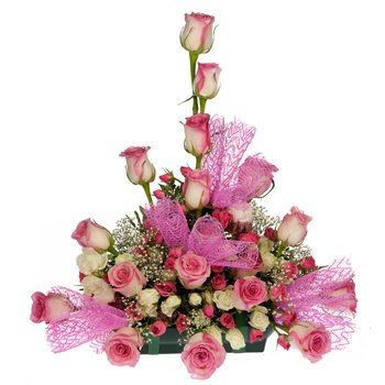 Rose Explosion Centerpiece