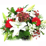 Holiday Colors bouquet